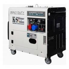 Дизельный генератор Konner & Sohnen KS 8200HDES-1/3 ATSR (двигатель EURO V)