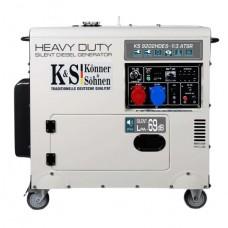 Дизельный генератор Konner&Sohnen KS 9202HDES-1/3 atsR (двигатель EURO II)
