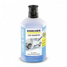 Автошампунь Karcher Plug-n-Clean 3-в-1, 1л (6.295-750.0)