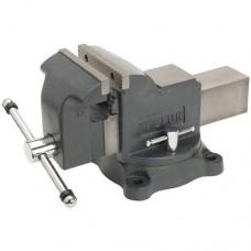 Слесарные тиски Мастерская UTOOL 150 мм (17102)