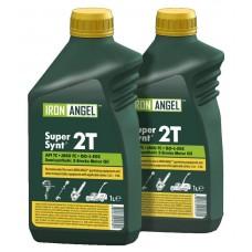 Масло для 2-х тактных двигателей Iron Angel 2T Master Synt 1 литр (42775)