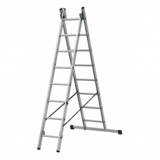 Лестница алюминиевая Elkop 2-х секц.VHR P 2x18 (37497)