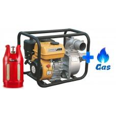 Газовая мотопомпа FORTE FP20C LPG