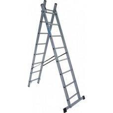Лестница алюминиевая Elkop 2-х секц.VHR T 2x8 (37494)