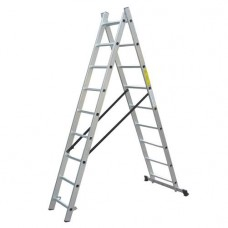 Лестница универсальная WERK LZ2108/LLA208 (2х8) (36784)