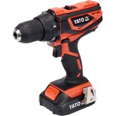 Дрель-шуруповерт аккумуляторный Yato YT-82780