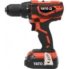 Дрель-шуруповерт аккумуляторный Yato YT-82782
